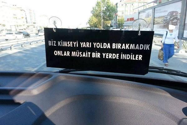 Photo of Şöför Sözleri Yazıları