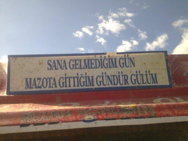 Photo of Kamyon Arkası Yazıları